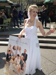 "We were promoting a pretty terrible movie called ""The Big Wedding."" ;)"