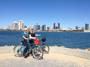 San Diego biking for hours