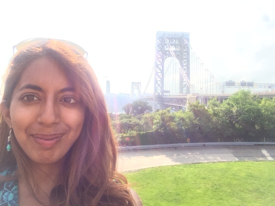 Amy recently walked the the George Washington  Bridge and the Brooklyn Bridge in one day!